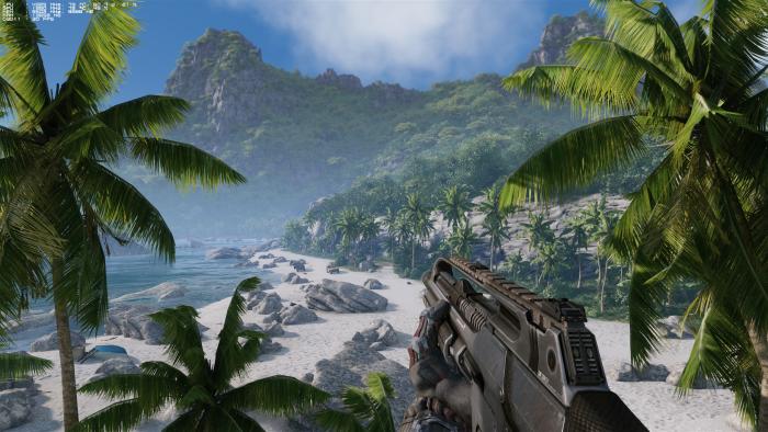 Can it run Crysis (Rechteinhaber: Crytek, Screenshot: Golem.de)