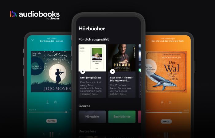 Audiobooks bei Deezer (Bild: Deezer)