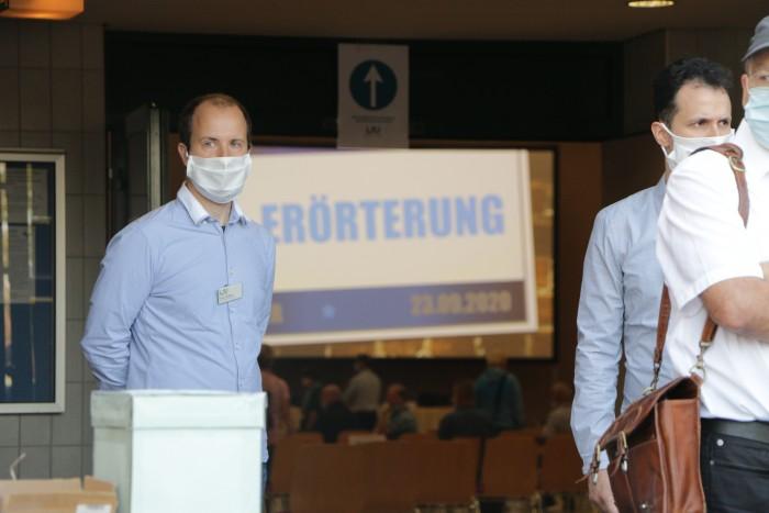 Von der Anhörung durften keine Bild- und Tonaufnahmen gemacht werden. (Foto: Friedhelm Greis/Golem.de)