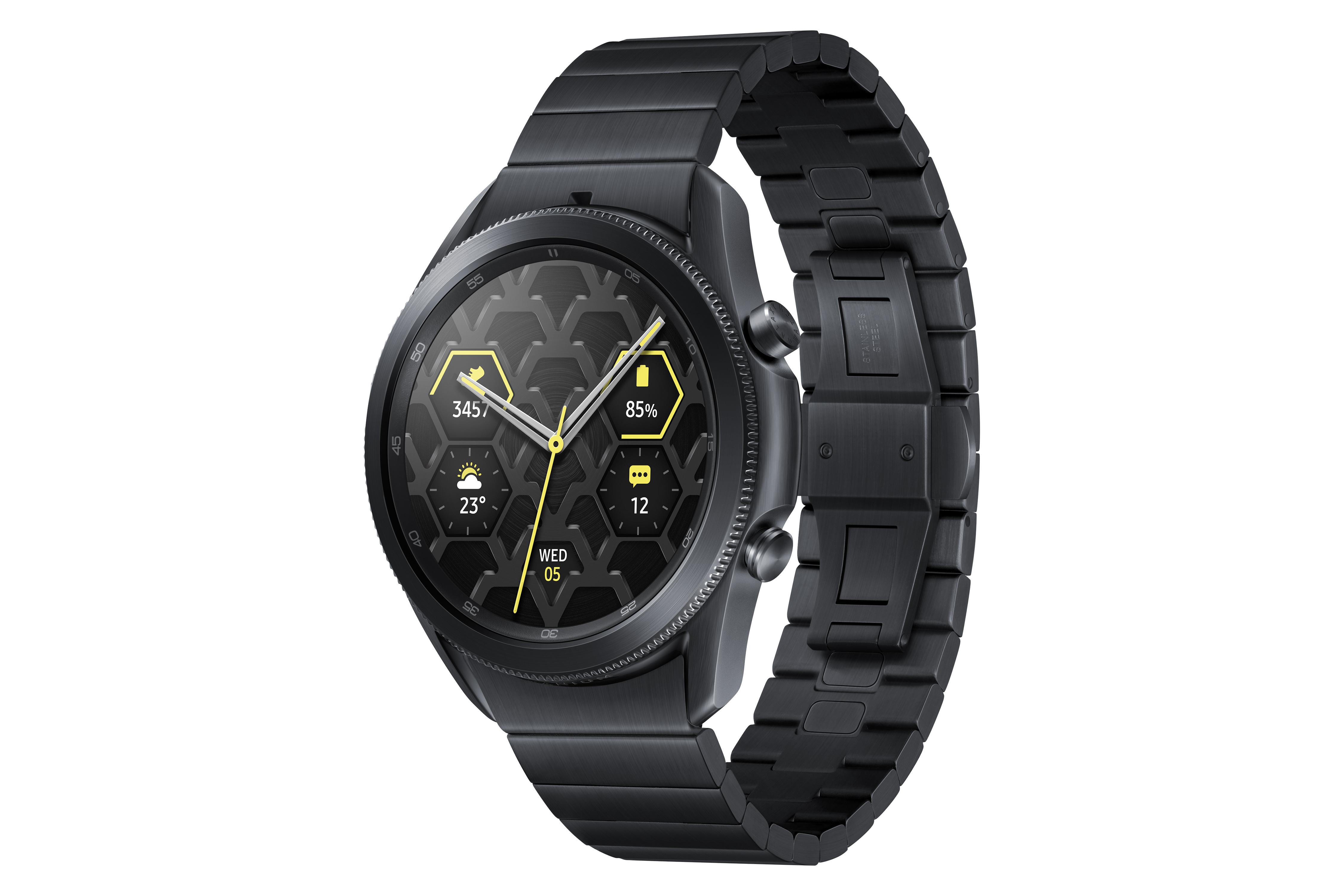 Smartwatch: Samsungs Titanversion der Galaxy Watch 3 kostet 633 Euro - Die Galaxy Watch 3 von Samsung aus Titan (Bild: Samsung)