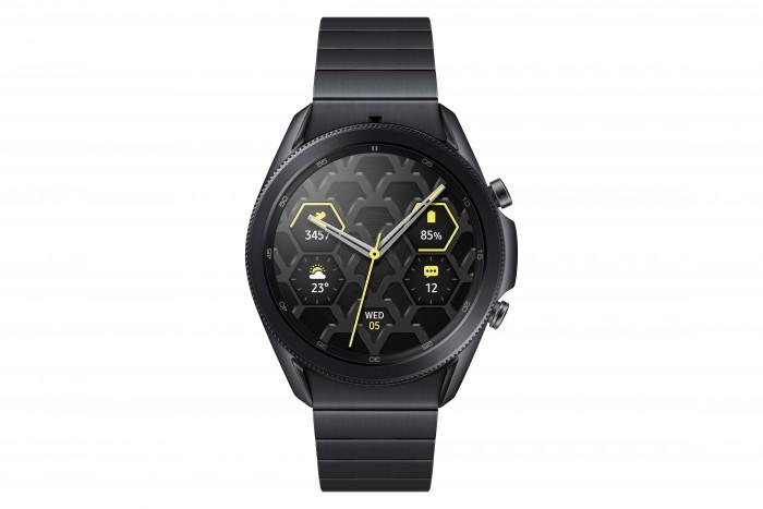 Die Galaxy Watch 3 von Samsung aus Titan (Bild: Samsung)