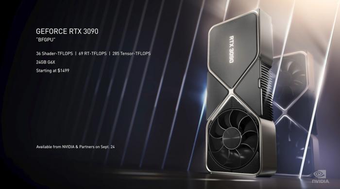 Daten der Geforce RTX 3090 (Bild: Nvidia)