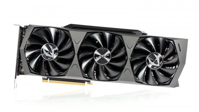 Zotac Geforce RTX 3090 Trinity (Bild: Golem.de)