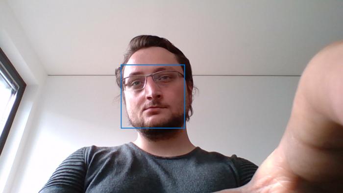 Die Webcam mit Froschperspektive (Bild: Oliver Nickel/Golem.de)