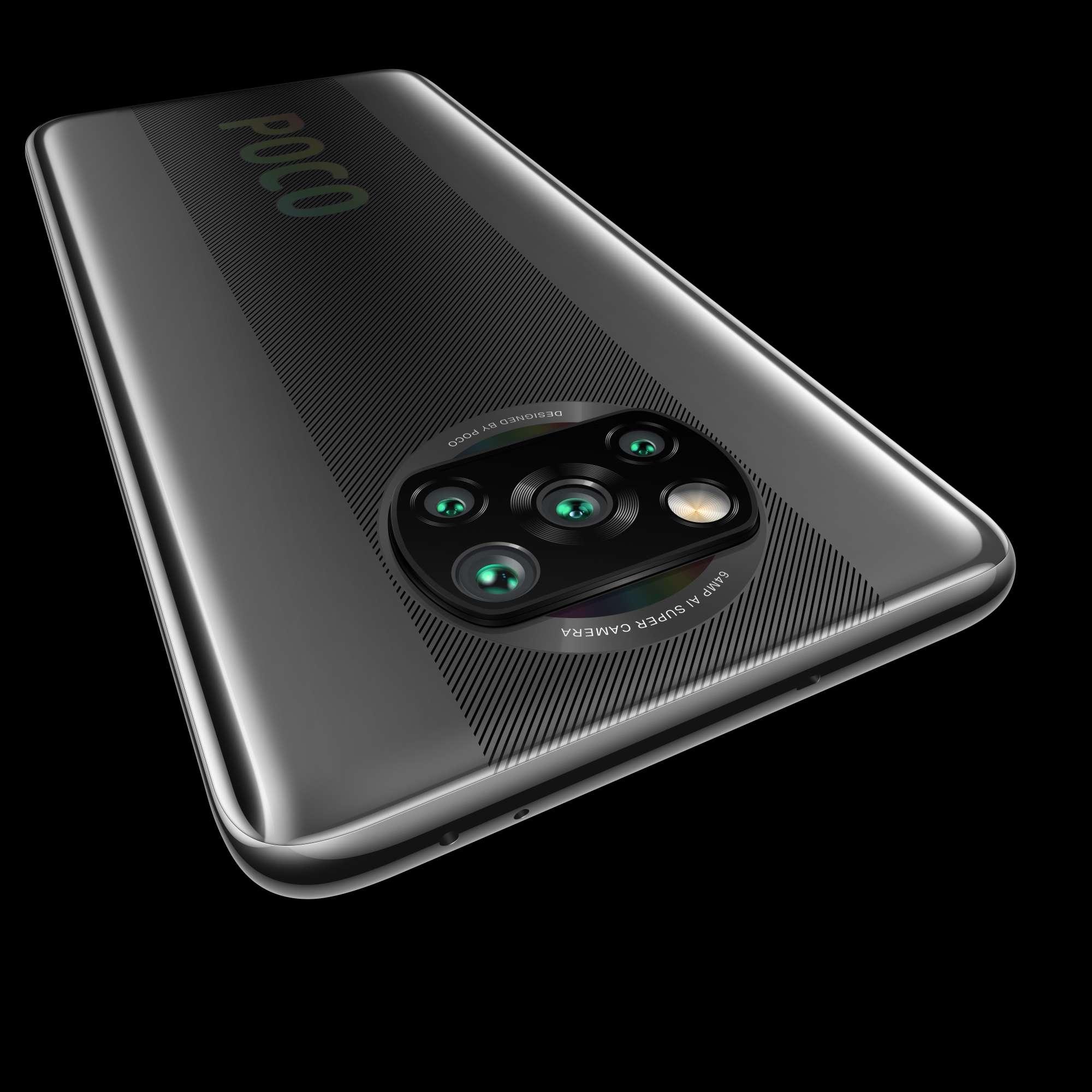 Xiaomi: Neues Poco-Smartphone mit Vierfachkamera kostet 200 Euro - Das Poco X3 NFC hat eine Vierfachkamera. (Bild: Xiaomi)
