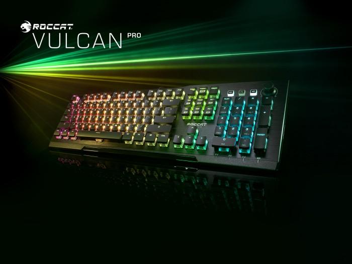Unter anderem die Vulcan Pro wird mit den neuen Titan Switches Optical erscheinen. (Bild: Roccat)