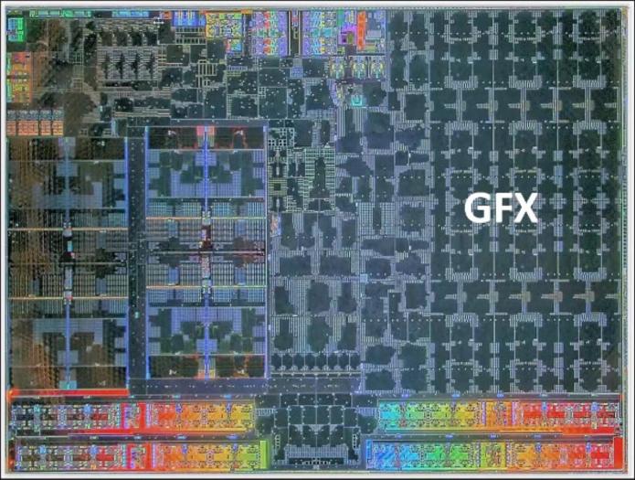 Die-Shot des SoC der Xbox Series S (Bild: Microsoft)
