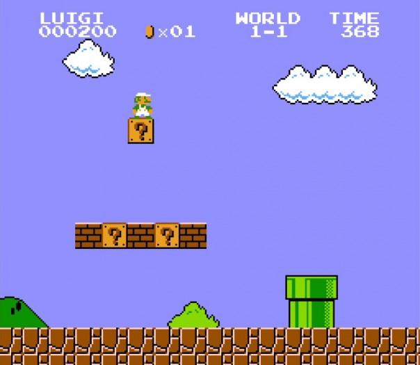 Der im Zweispielermodus spielbare Luigi sieht seinem Bruder zum Verwechseln ähnlich. (Bild: Nintendo / Screenshot: Medienagentur Plassma)
