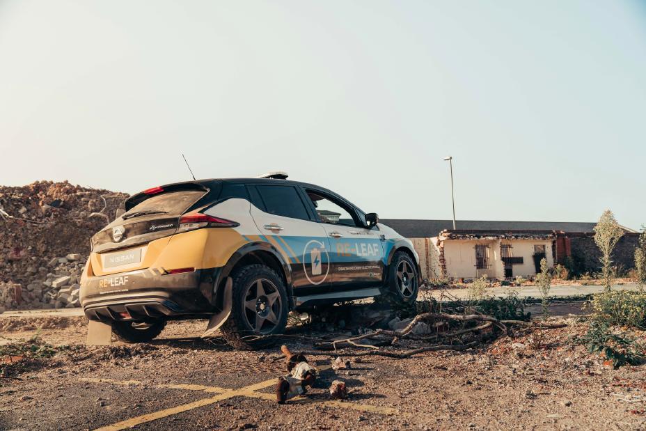 Elektroauto Re-Leaf: Nissan baut den Leaf zum Notfall-Kraftwerk um - Nissan Re-Leaf (Bild: Nissan)