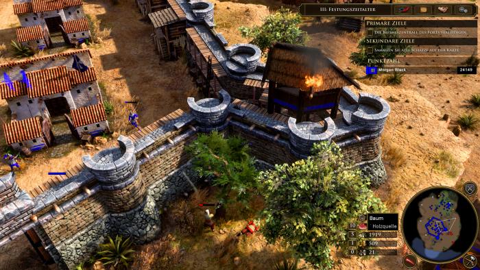 Angriff auf unsere Festungsmauern! (Bild: Microsoft/Screenshot: Golem.de)