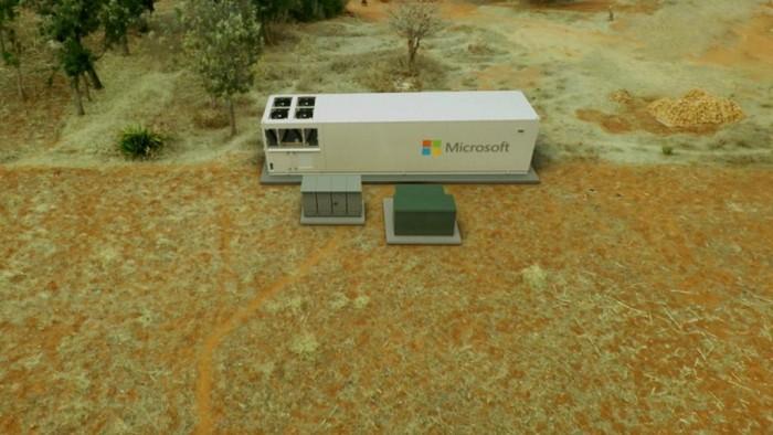Azure Mobile Datacenter (Bild: Microsoft)