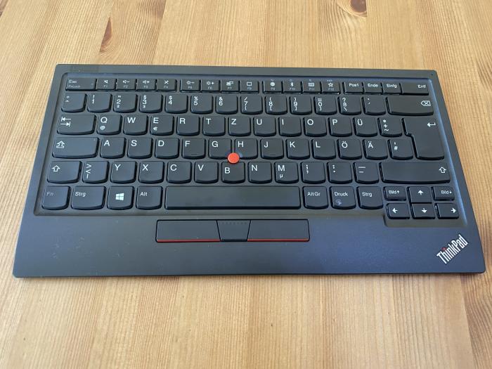 Lenovos Thinkpad Trackpoint Keyboard 2 (Bild: Ingo Pakalski/Golem.de)