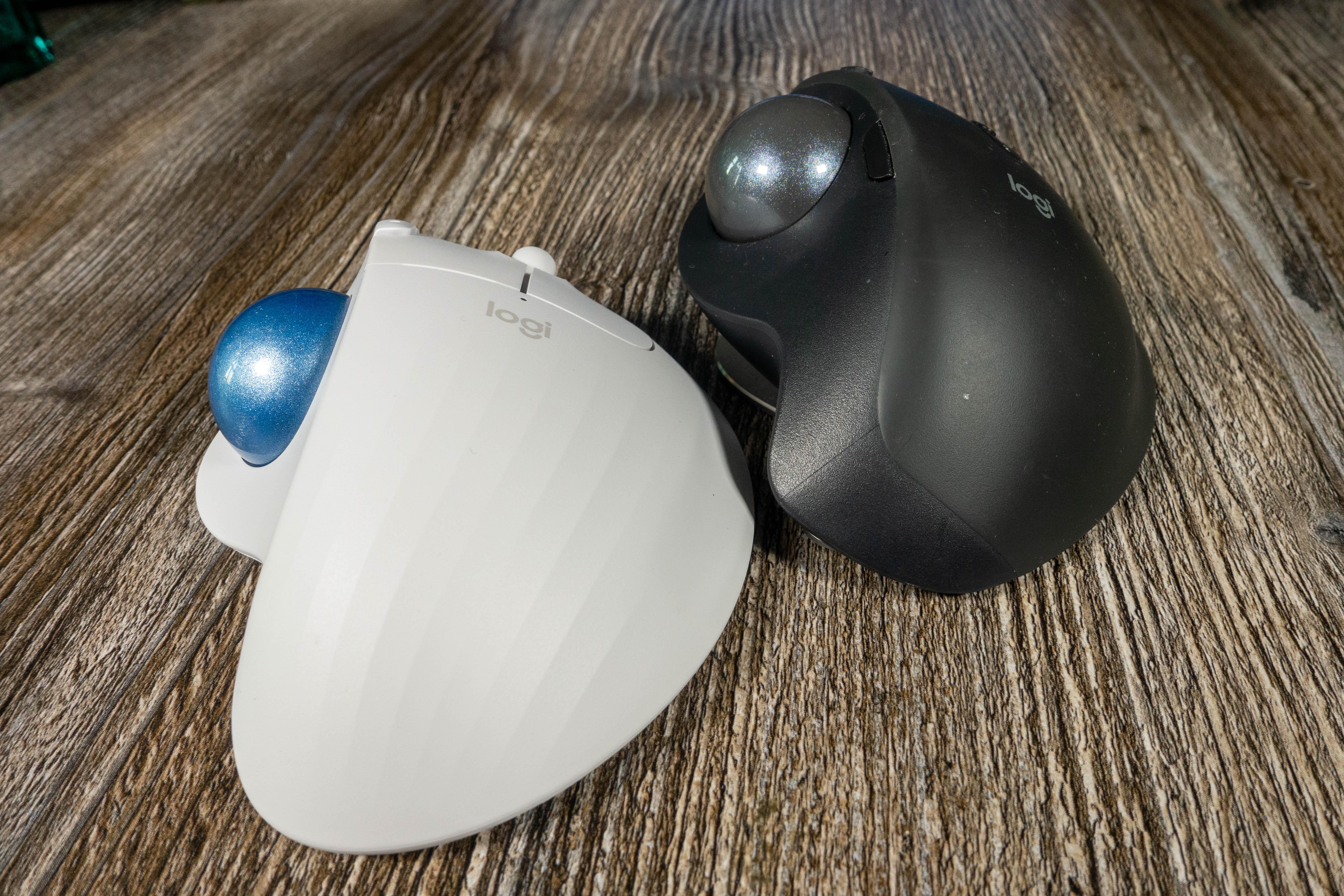 Ergo M575 im Test: Logitechs preiswerter Ergo-Trackball überzeugt -