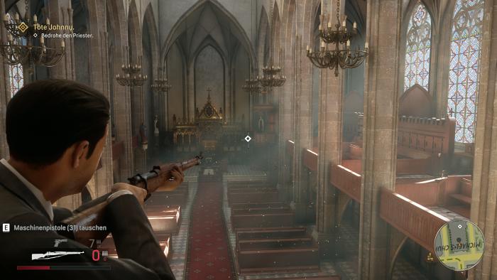 Licht und Schatten gehören zu den grafischen Pluspunkten von Mafia Definitive Edition. (Rechteinhaber: Hangar 13, Screenshot: Golem.de)