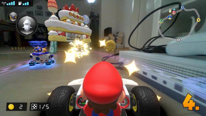 Wenn Mario gegen die Xbox donnert, sieht er Sterne. (Bild: Nintendo/Screenshot: Golem.de)