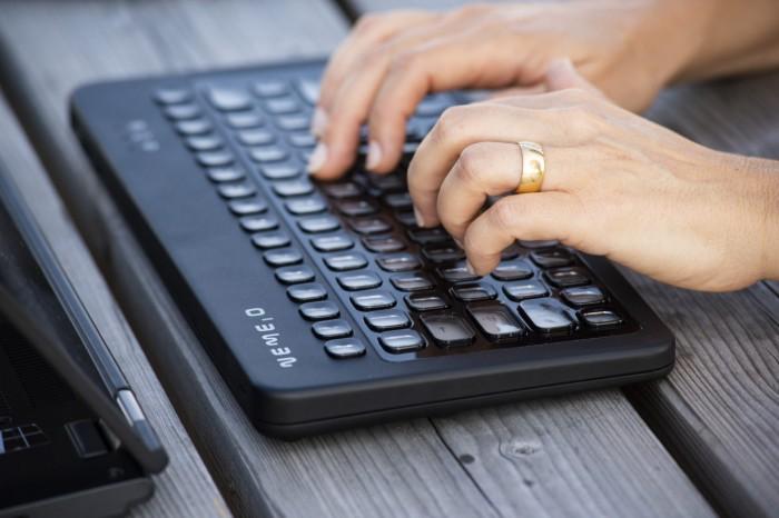 Nemeio-Tastatur (Bild: Nemeio)