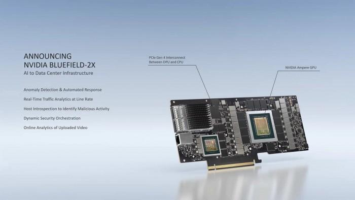 Bluefield-2X-DPU (Bild: Nvidia)