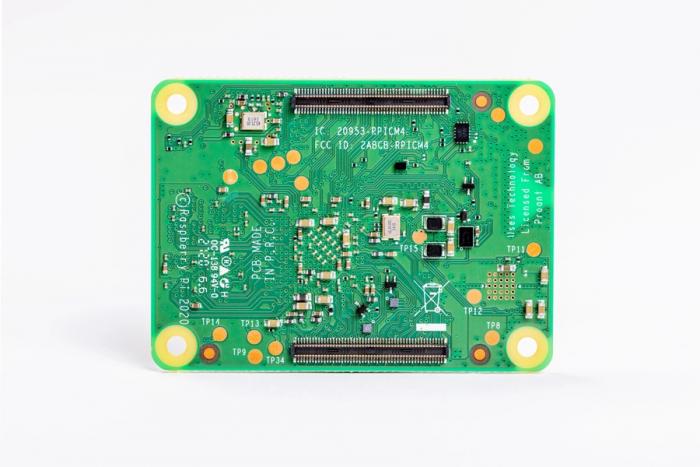 Raspberry Pi Compute Module 4 (Bild: Raspberry Pi Foundation)