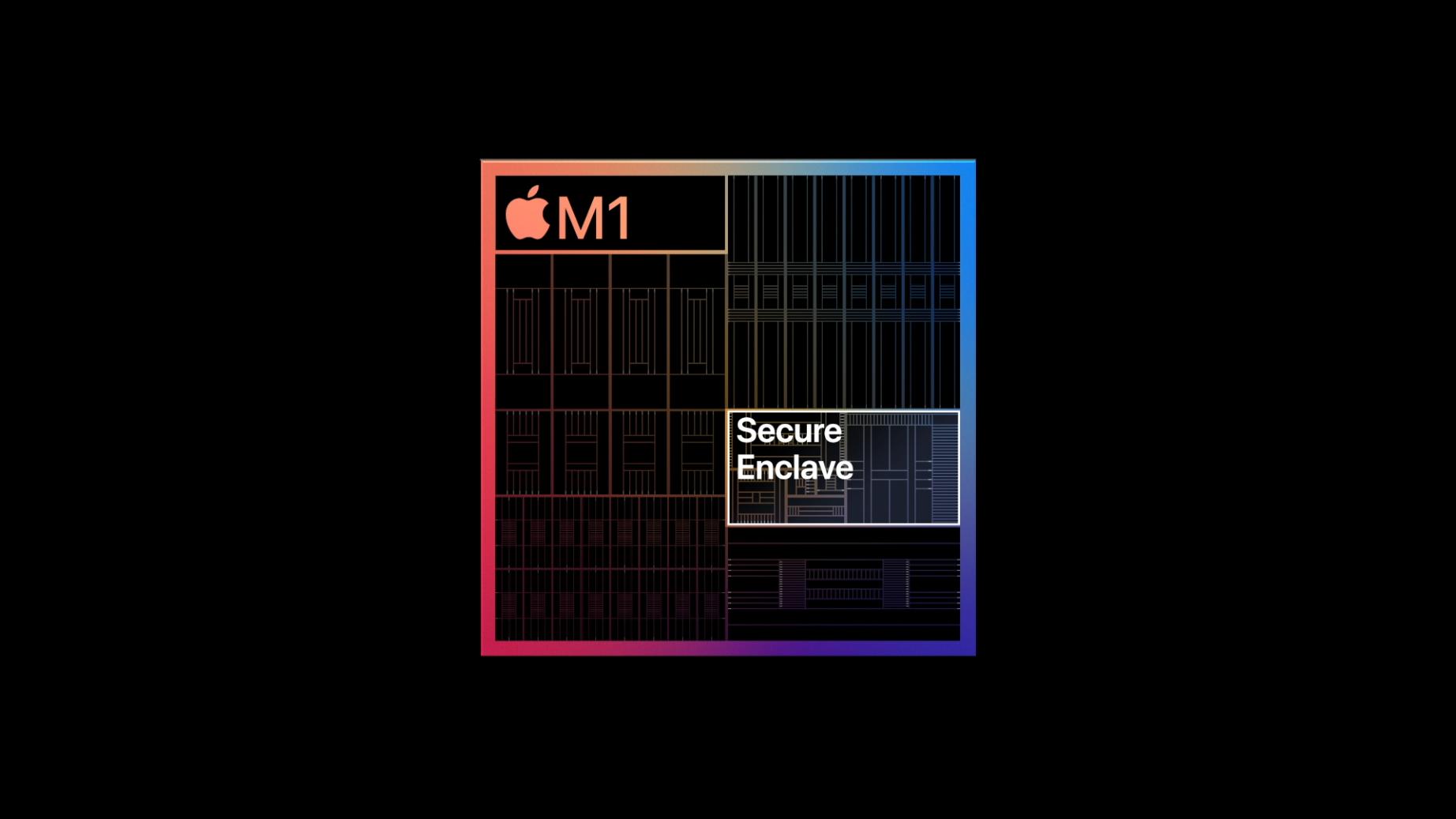 Apple Silicon: Was der M1-Chip kann und bedeutet - In der Secure Enclave liegen unter anderem Login-Daten. (Bild: Apple)