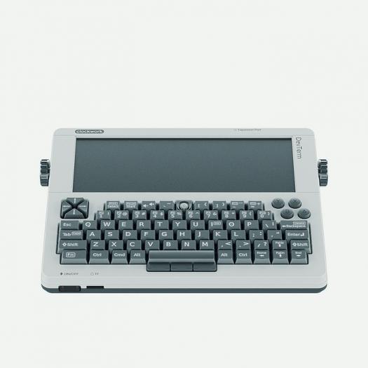 Der Devterm ist ein Bastelrechner im Retro-Design. (Bild: Clockwork)