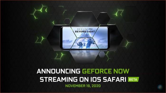 Geforce Now startet für iOS. (Bild: Nvidia)