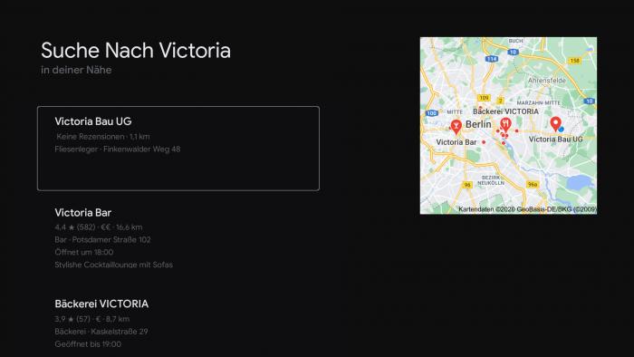 Wenn wir nach dem Film Victoria suchen, erhalten wir dieses Suchergebnis von Google. (Bild: Google/ Screenshot: Golem.de)