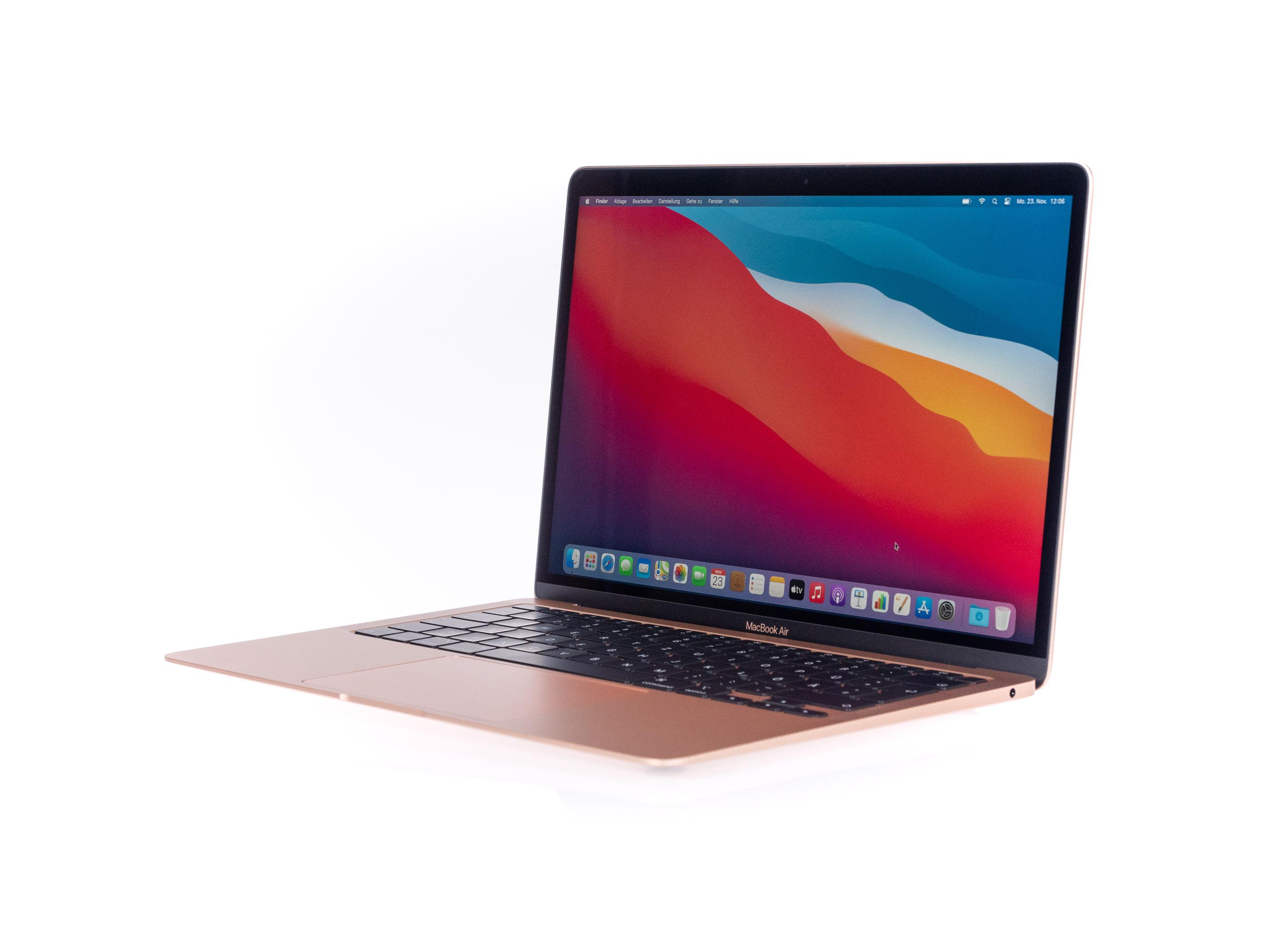 Macbook Air mit Apple Silicon im Test: Das beste Macbook braucht kein Intel - Macbook Air mit Apple M1 (Bild: Martin Wolf/Golem.de)