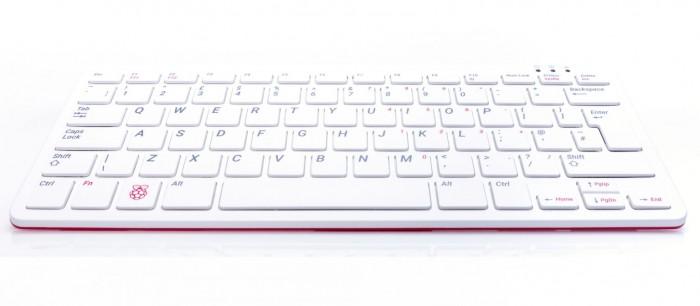 Der Raspberry Pi 400 ist eine Tastatur mit eingebautem Raspberry Pi 4. (Bild: Raspberry Pi Foundation)