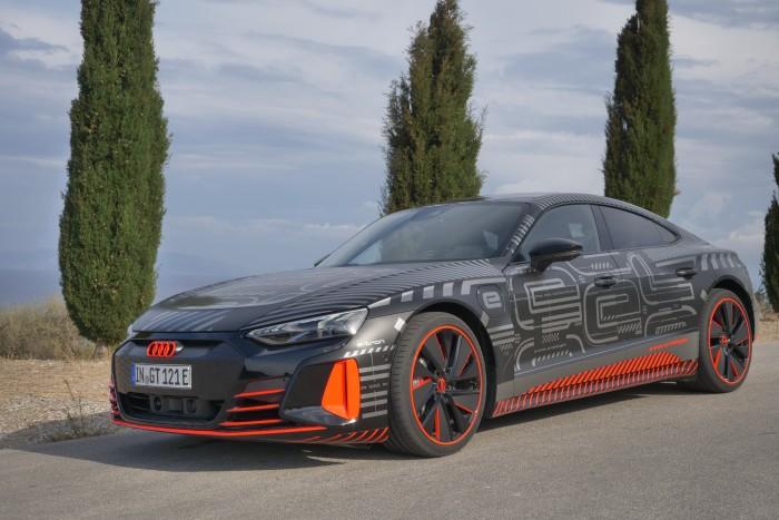 Der RS E-Tron GT ist mit 475 kW (646 PS) das bislang leistungsstärkste RS-Modell von Audi. (Foto: Friedhelm Greis/Golem.de)