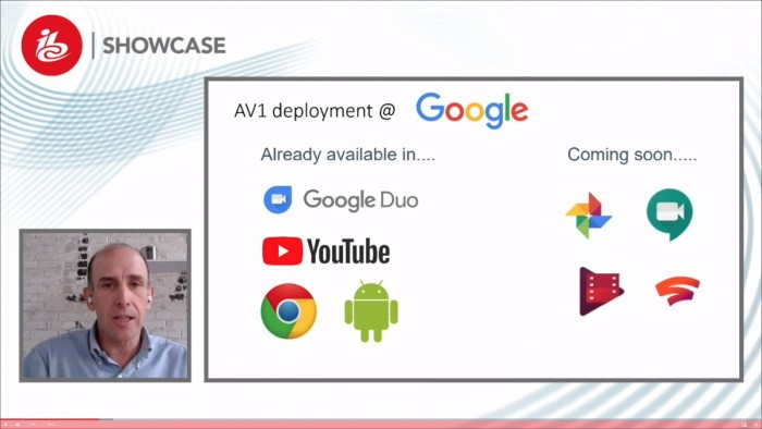 Google plant die Nutzung von AV1 in weiteren Diensten. (Bild: Aomedia)
