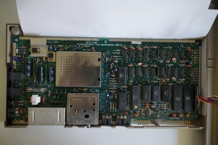 Das Mainboard des C64 (Bild: Miroslav Stimac)