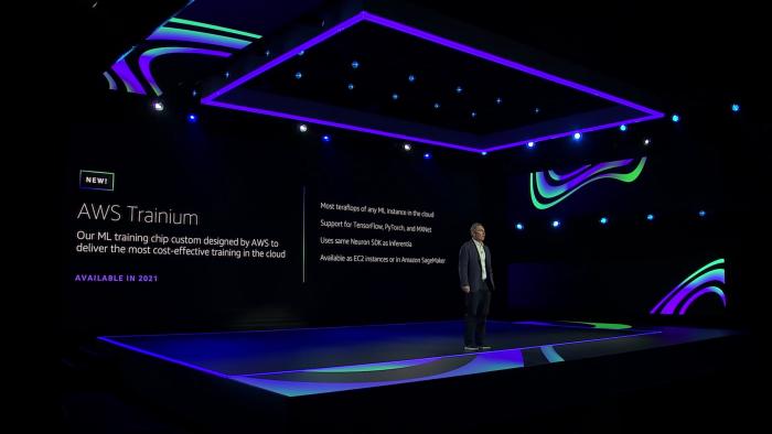 Trainium ist ein selbst entwickelter Training-Chip. (Bild: AWS)