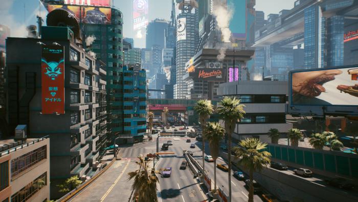 Cyperpunk 2077 mit Ultra-Voreinstellung und Ultra-Raytracing (Rechteinhaber: CDPR, Screenshot: Golem.de)