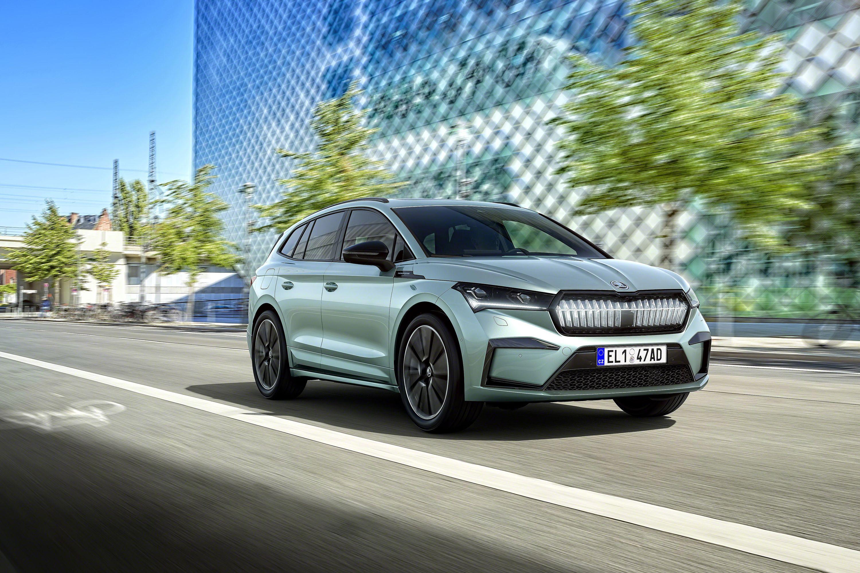 Elektromobilität: Diese E-Autos kommen 2021 auf den Markt - Skoda Enyaq iV (Bild: Skoda)