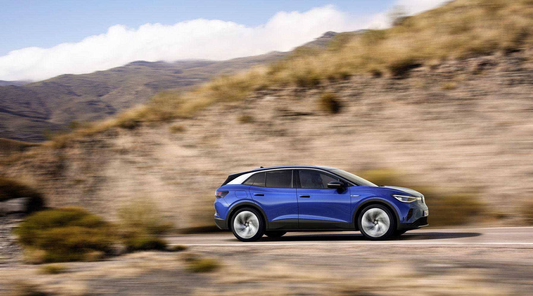 Elektromobilität: Diese E-Autos kommen 2021 auf den Markt - VW ID.4 (Bild: VW)