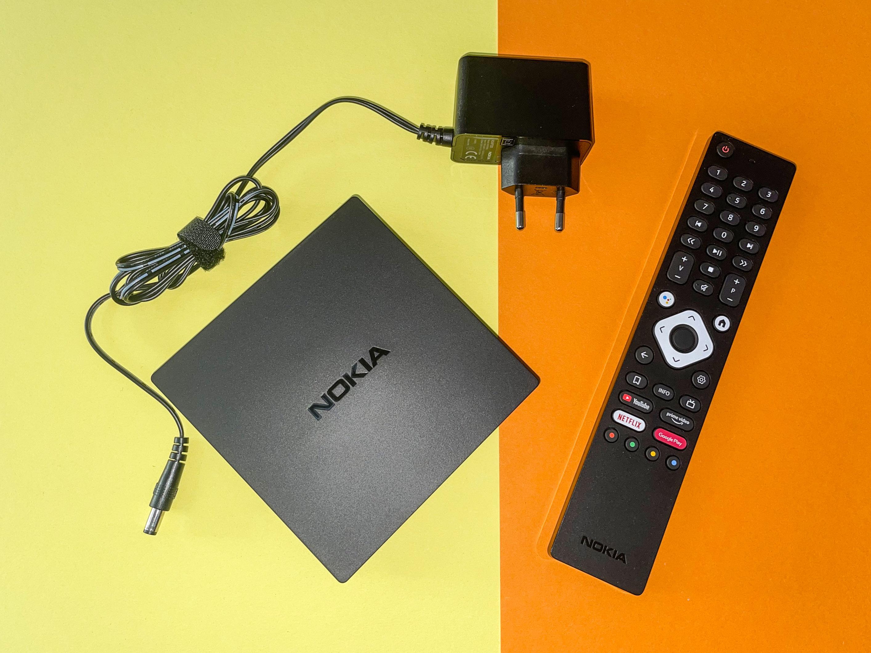 Android-TV-Geräte im Vergleichstest: Nokia-Box begeistert, Xiaomi-Stick enttäuscht - Nokias Streaming Box 8000 (Bild: Ingo Pakalski/Golem.de)