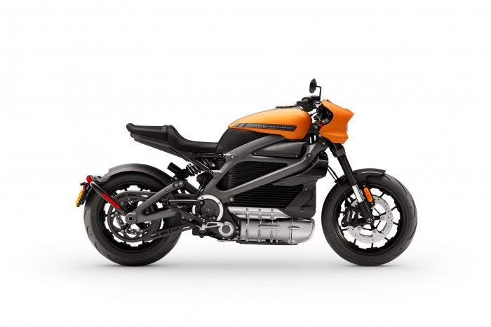 Die Livewire hat eine Spitzenleistung von 79 kW (106 PS) und erreicht eine Höchstgeschwindigkeit von 177 km/h. (Foto: Harley-Davidson)