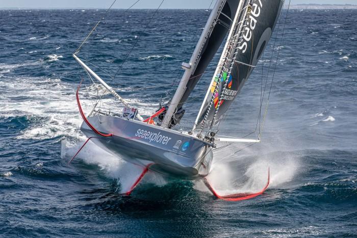 Boris Herrmanns Boot Seaexplorer ist eine hochtechnisierte Yacht. (Bild: Jean-Marie Liot/Malizia)