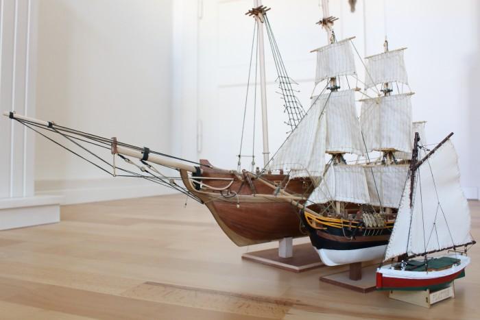 Die Armada entstand in den letzten vier Jahren. (Bild: Alexander Merz/Golem.de)