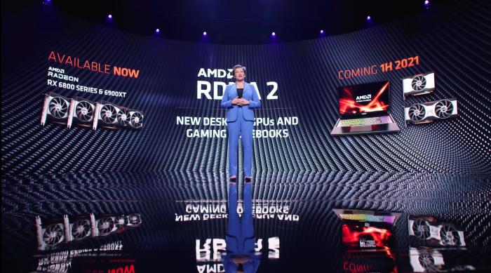 RDNA2 wird auf Desktop und Mobile ausgeweitet. (Bild: AMD)