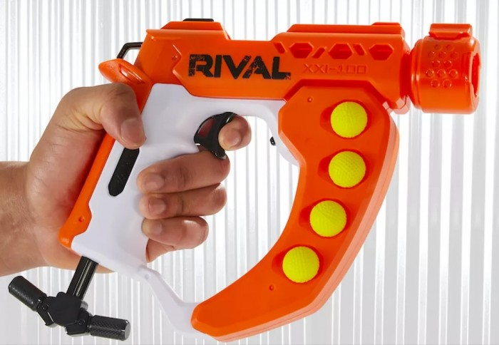 Nerf Rival Curve Shot Flex XXI-100 (Bild: Hasbro)