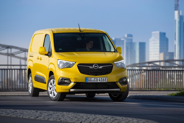 Der neue Opel Combo-e Cargo (Bild: Opel)
