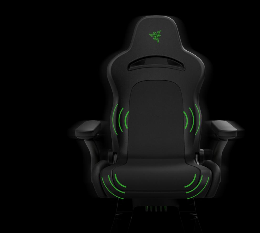 Project Brooklyn: Razer zeigt skurrilen Gaming-Stuhl mit ausrollbarem OLED - Project Brooklyn (Bild: Razer)