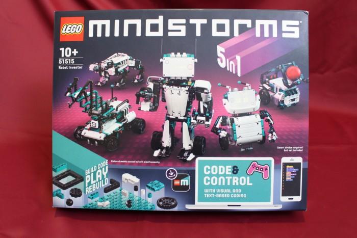 Die Box von Lego Mindstorms Robot Inventor ... (Foto: Alexander Merz/Golem.de)