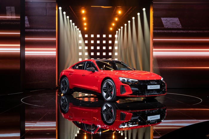 Audi RS E-Tron GT (Bild: Audi)