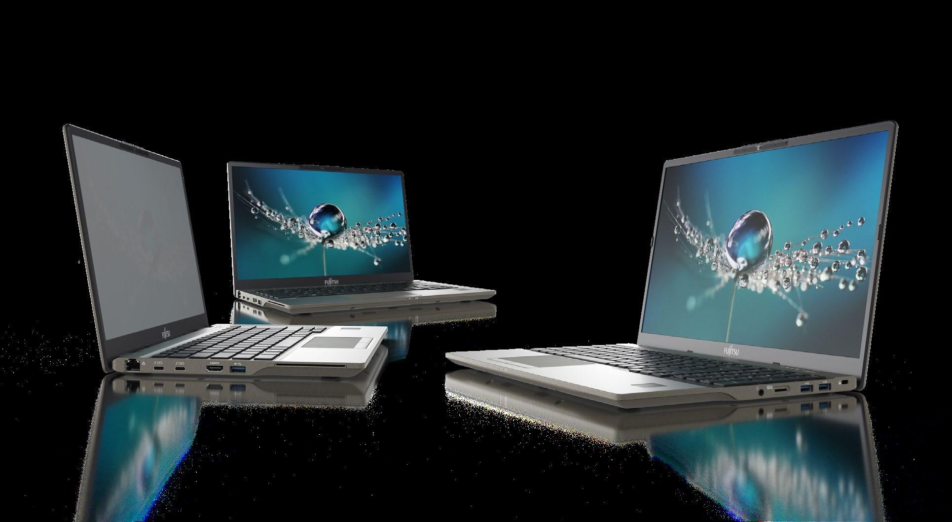 Lifebook U7: Fujitsus neue Notebooks behalten gesteckten RAM bei - Fujitsu Lifebook U7 (Bild: Fujitsu)