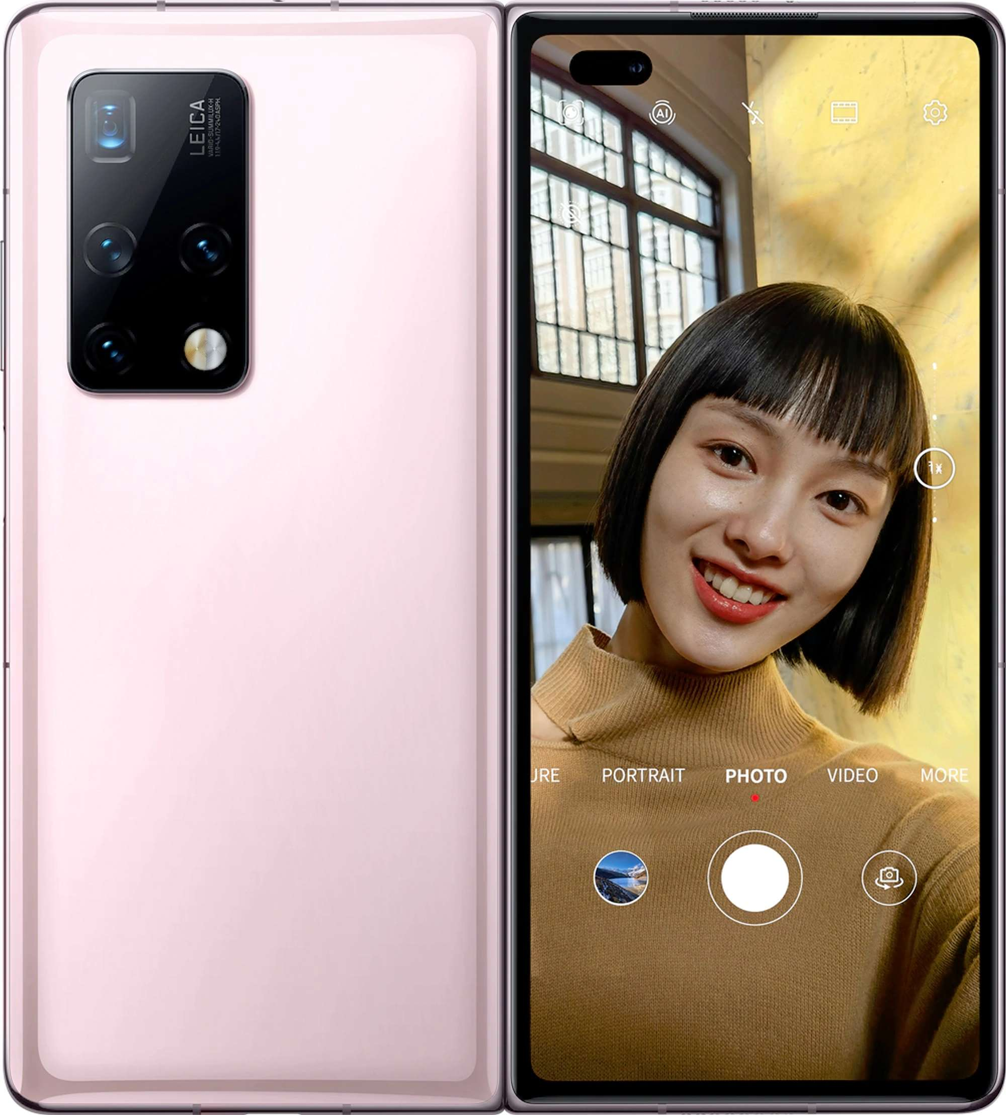Mate X2: Huawei stellt faltbares Smartphone mit neuem Scharnier vor -