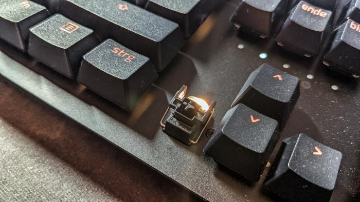 Die optomechanischen Schalter sind eine gute Erfindung. (Bild: Oliver Nickel/Golem.de)