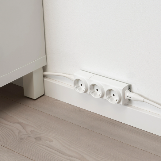 Steckdosensytem Åskväder in Modulbauweise (Bild: Ikea)