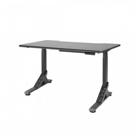 Zu der mit Asus entwickelten Möbelserie gehört auch ein elektrisch verstellbarer Tisch. (Bild: Ikea)
